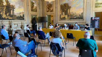 conferenza Jesi_Presentazione cartellone Monsano Folk Festival 2021