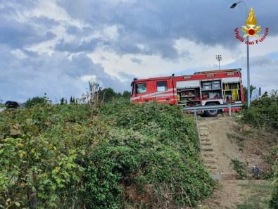 FALCONARA incendio capanno agricolo2021-09-17 (1)