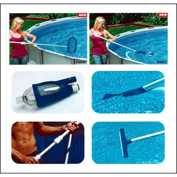 Kit Pulizia Deluxe per Pompe Filtro Intex 28003 facilita enormemente la pulizia della tua piscina Intex.