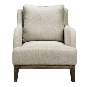 Brooklyn Armchair Natural Front