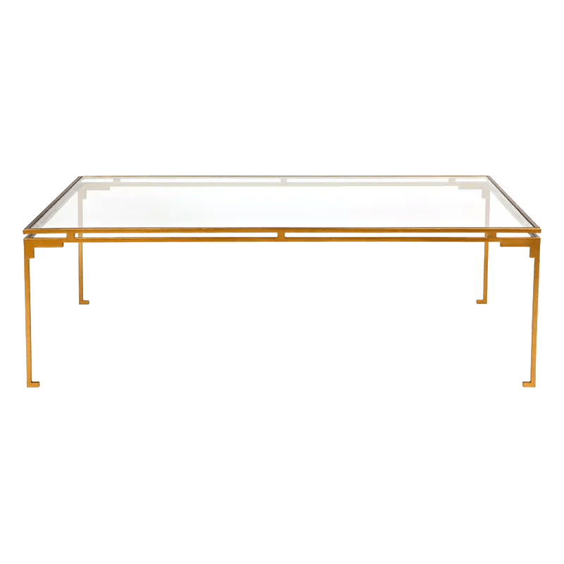 FLORENCE coffee table antique gold