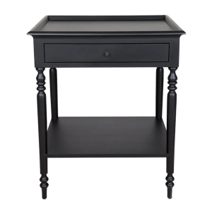 Montaigne Side Table Black
