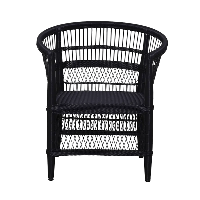 MALAWI Chair Synthethic Black