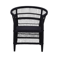 Malawi Chair Synthetic black