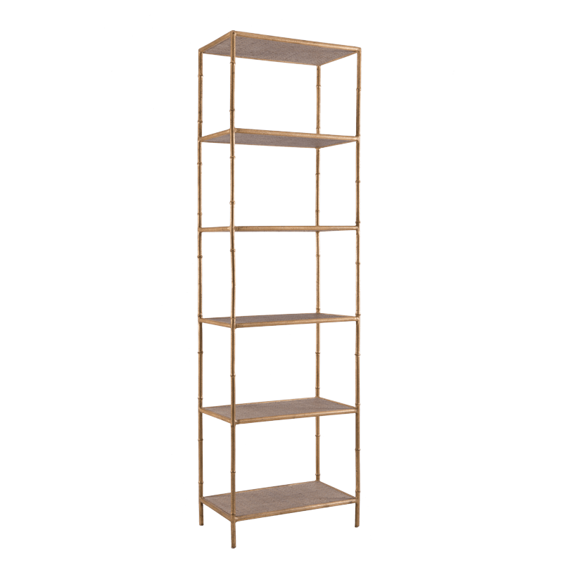 Mayfair Etagere Bookcase Angle