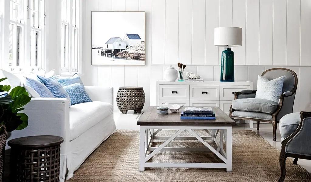 Hamptons style interiors