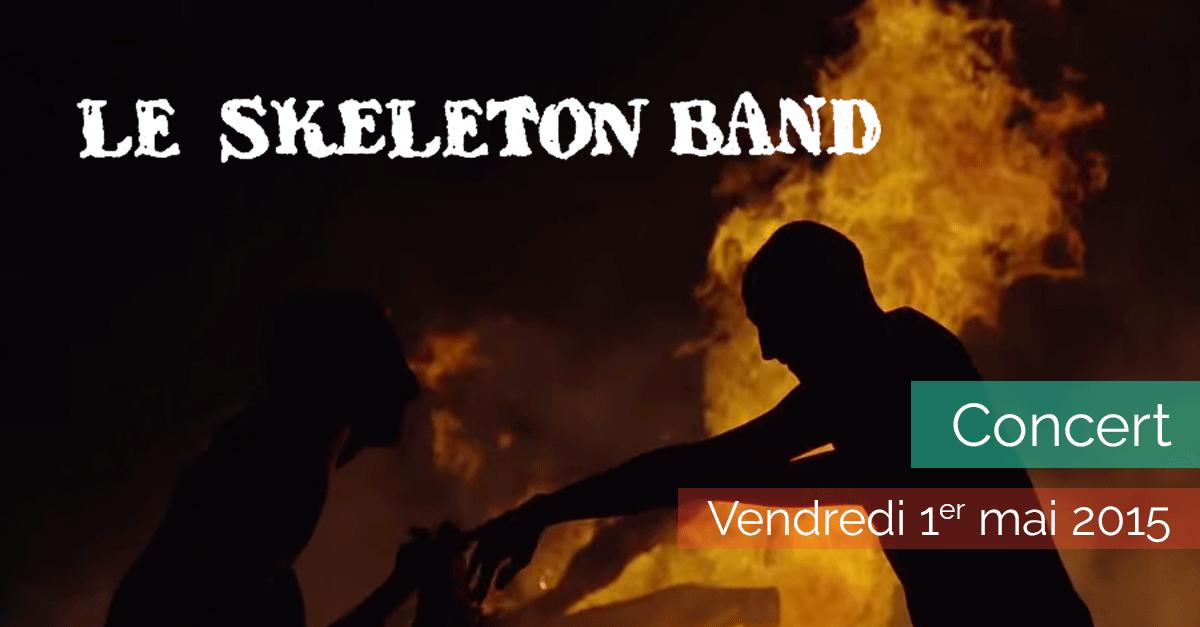 Le Skeleton Band en concert - La Maison de la Terre