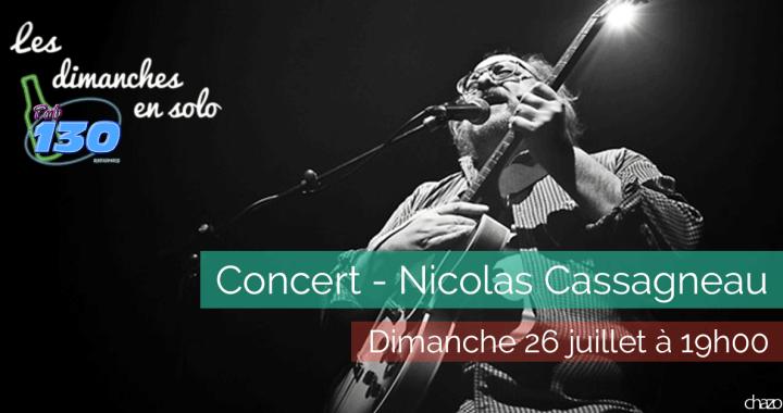 Les dimanches en solo - Nicolas Cassagneau - 2015-07-26