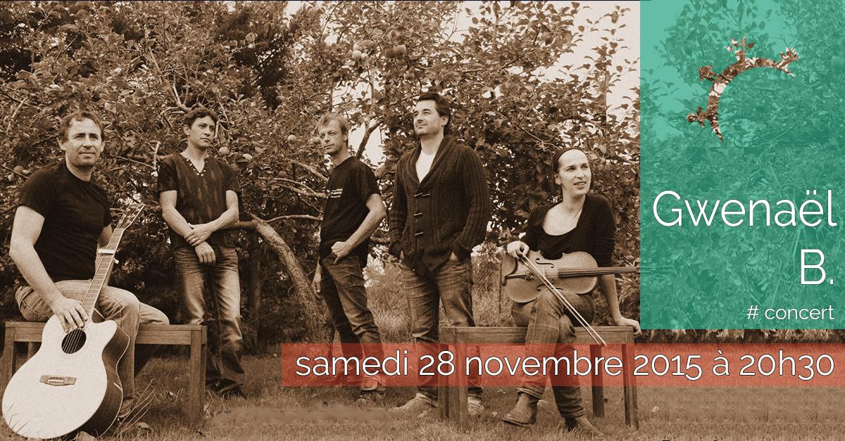 Concert - Thjago Djinn- Samedi 28 novembre 2015