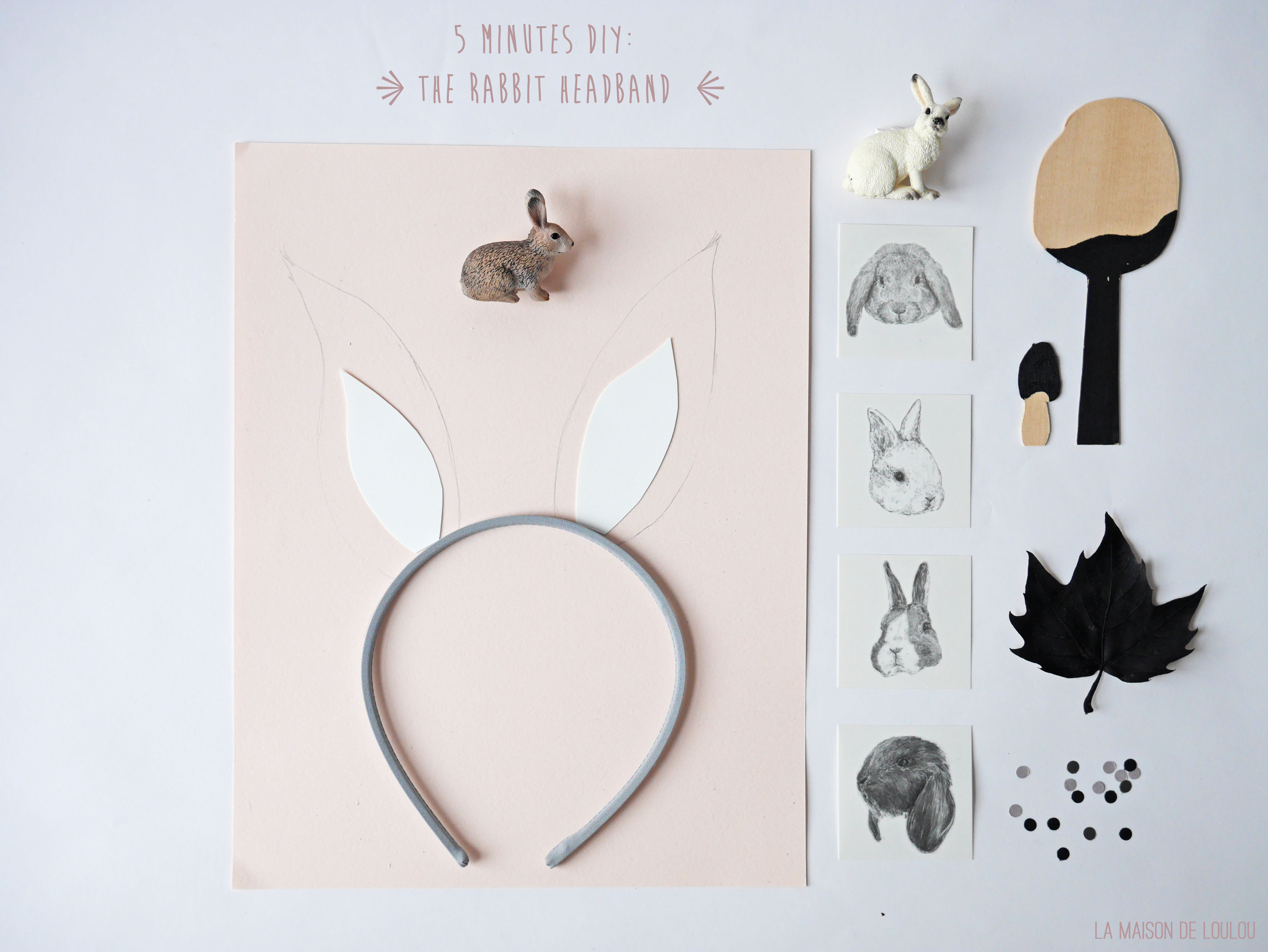5 Minutes Diy The Rabbit Headband