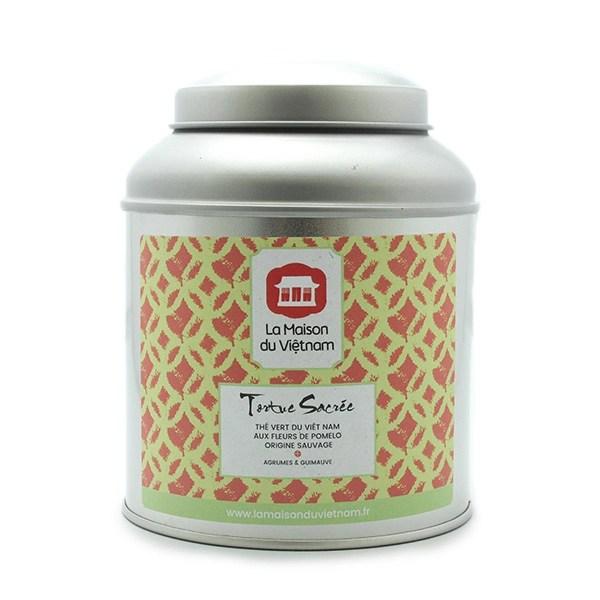 Tortue Sacrée Pomelo Flower scented tea leaves box