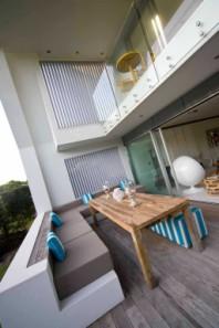 Outdoor verandah