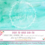 Casuarina Weddings open day at Osteria Casuarina