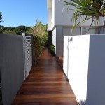 New deck at La Maison Pacifique