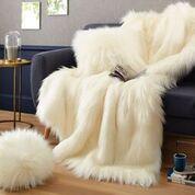 Fourrure Himalaya blanche