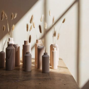 Soliflores et vases en bois Anso Design