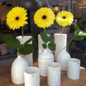 Vases et soliflores en porcelaine