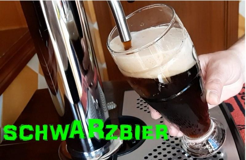 cerveza negra schwarzbier con fermentación lager o de baja fermentación
