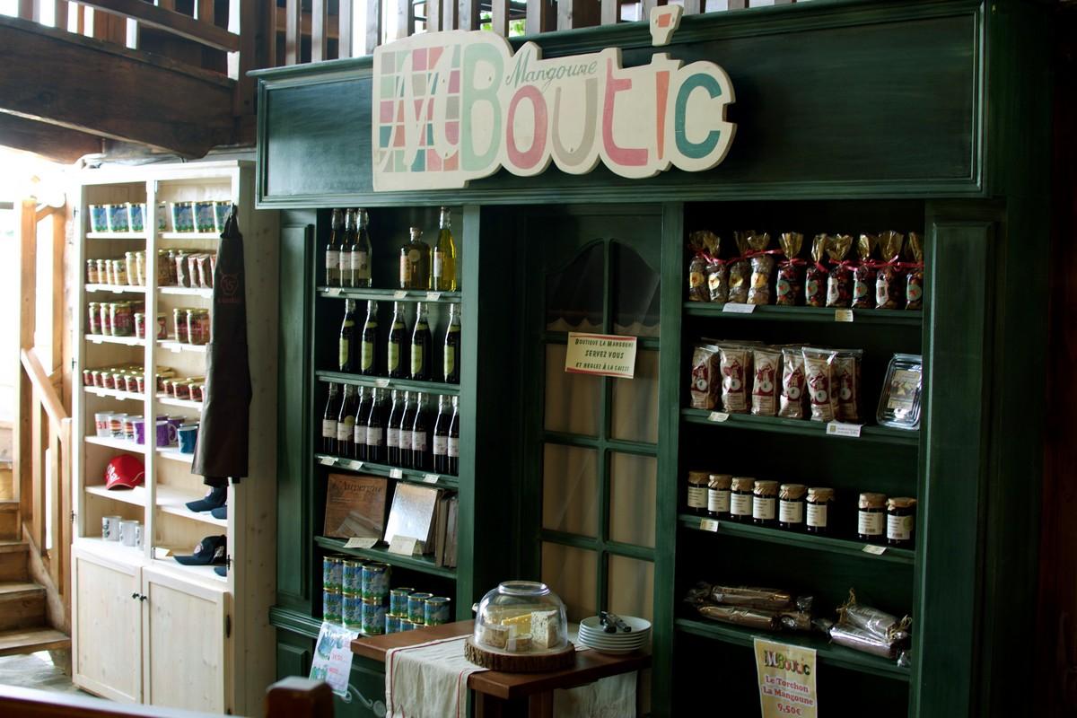 La boutique La Mangoune de Saint-Flour