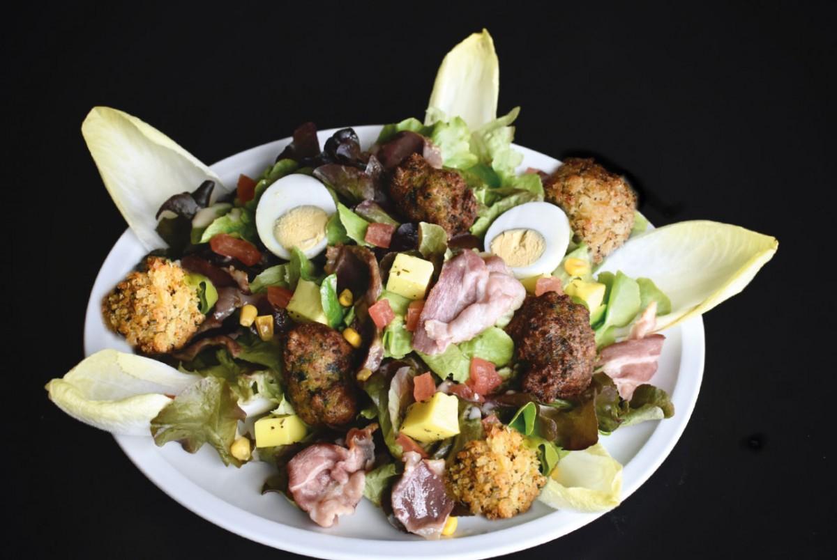 Salade XXL à La Mangoune