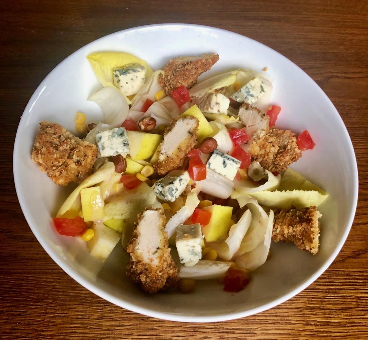 Salade de l'Hiver - La Mangoune