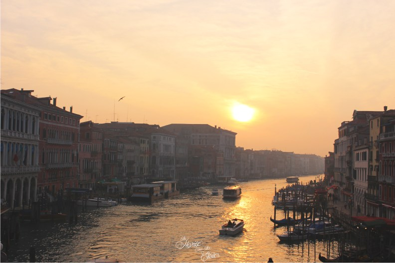 Grand canal et Pont du Rialto à Venise   Voyage en amoureux - Venise, Italie