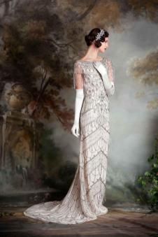 Robe de mariée Eliza Jane Howell, modèle Violet, Boutique Plume Paris