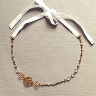 Headband bijou de tête CAMELIA | Headband mariage Pemberley CAMELIA | Headband Pemberley mariage