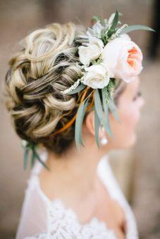 Couronne de fleurs Mariage _ Photography Bellamint Photography _Style Me Pretty