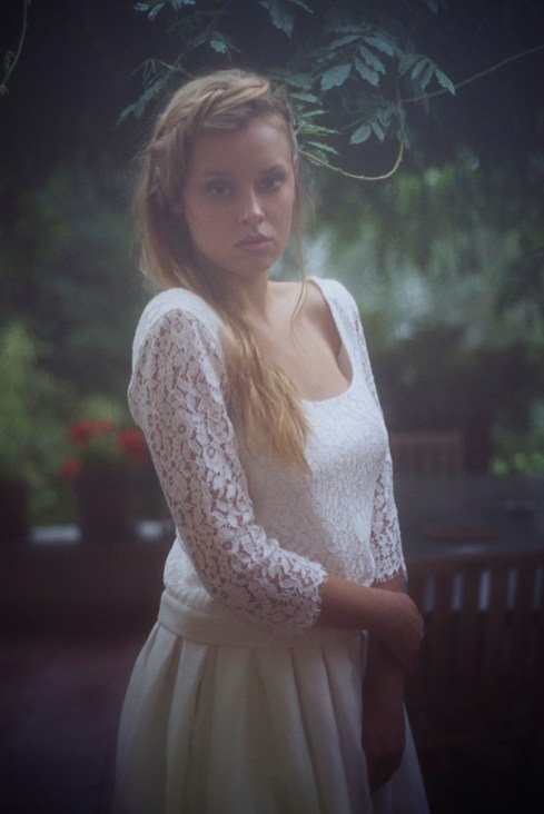 JUPE LISA TOP MINOR - Organse Paris - Collection 2016 robes de mariée sur-mesure