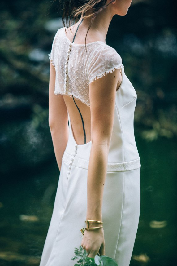 Aurélia Hoang Collection 2016 - Robe de mariée 2016 Greta ©Ingrid Lepan