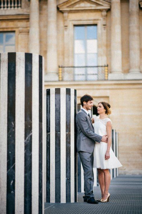 Shooting d'inspiration Gold, Black & White - Photo © Charles Séguy   Blog Mariage   La Mariée Sous Les Etoiles