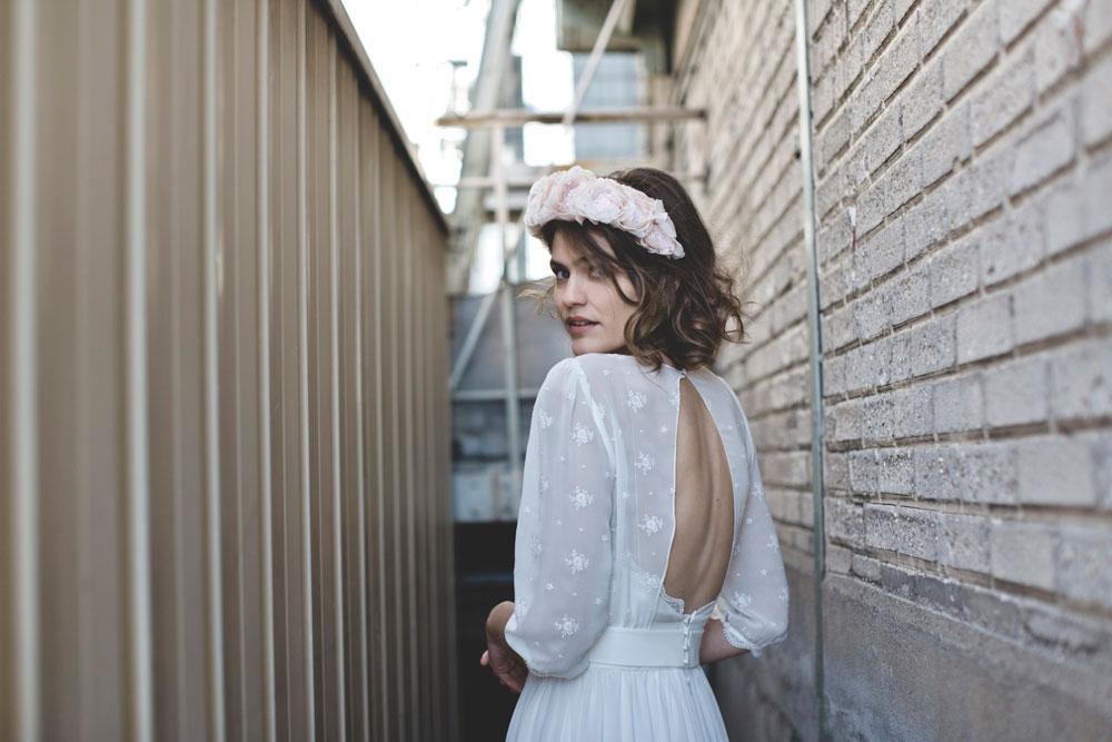 Frida, la robe de mariée signée Elise Hameau exclusivité du Printemps | Photo Céline Marks | Maria Luisa Mariage Printemps_3