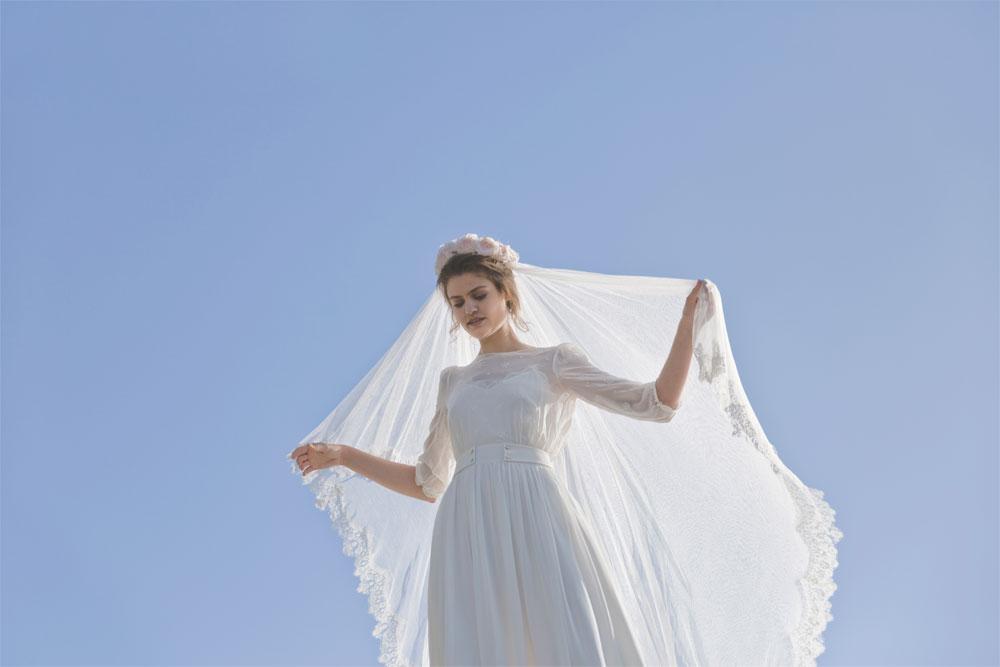 Frida, la robe de mariée signée Elise Hameau exclusivité du Printemps | Photo Céline Marks | Maria Luisa Mariage Printemps_5