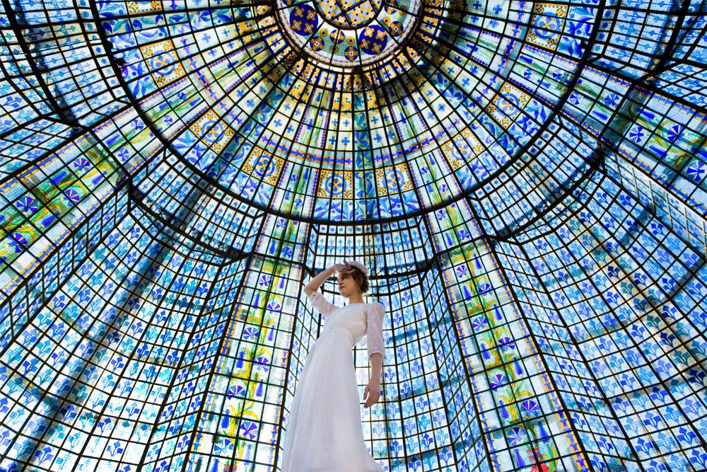 Frida, la robe de mariée signée Elise Hameau exclusivité du Printemps | Photo Céline Marks | Maria Luisa Mariage Printemps_8