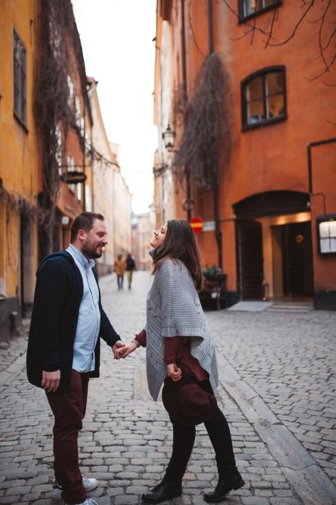 [Suède] • Destination Stockholm pour une love session pas comme les autres...