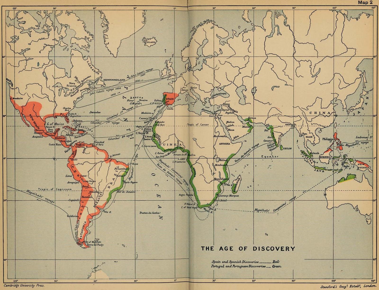 Imperios Coloniales De Espana Y Portugal