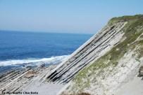 Les falaises à Urrugne