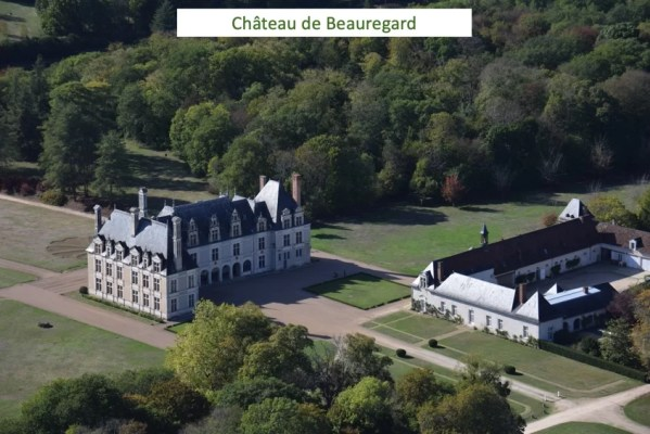LaMaugerieULM-Autogire - Château de Beauregard