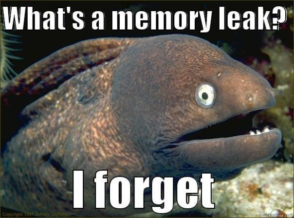 memory leakage
