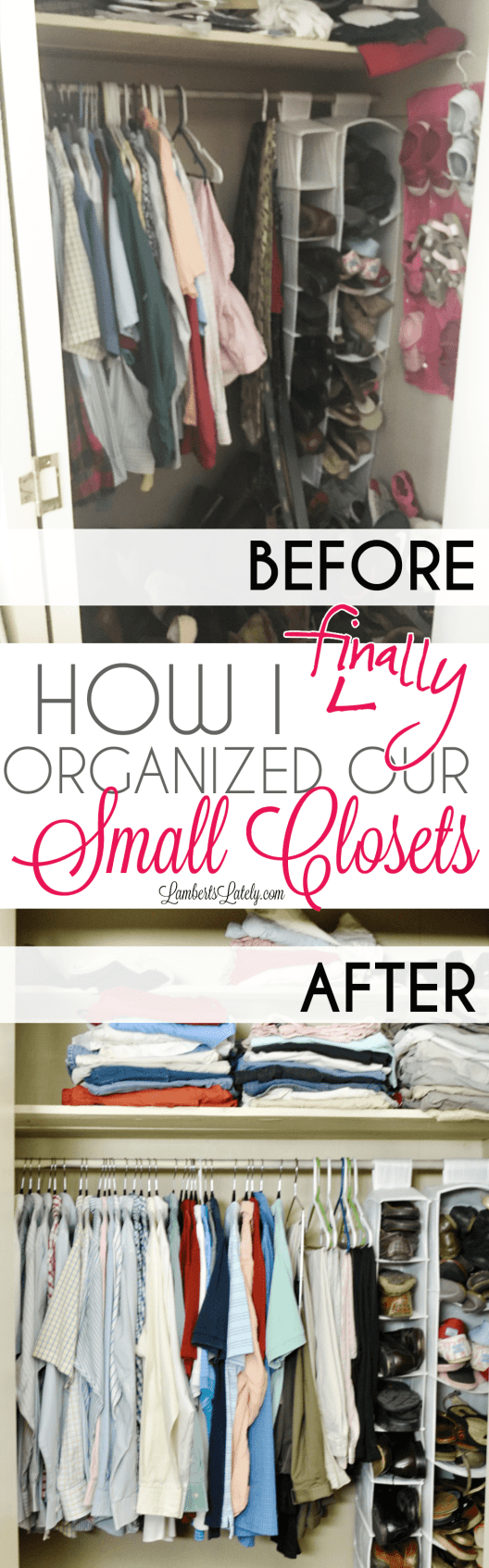 Small Closet Organization Tips and Tricks || Bedroom Organizing Hacks || Small Space Ideas DIY