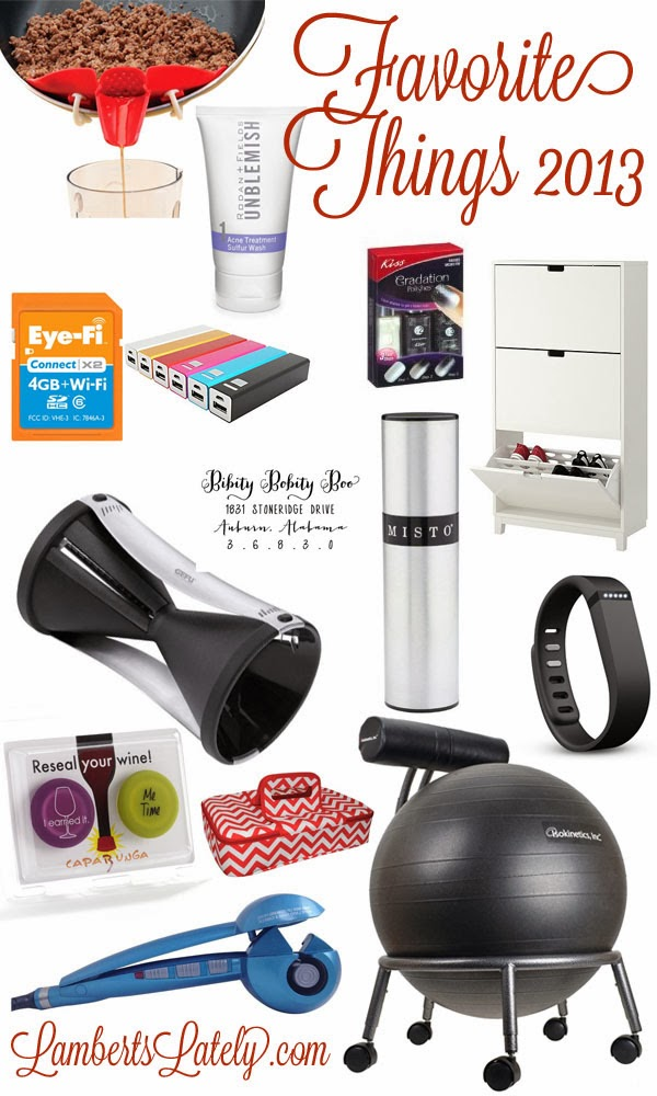 Great gift ideas for the person that has everything https://www.lambertslately.com/2013/12/favorite-things-2013.html