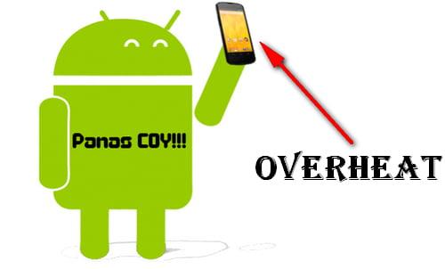 Cara Mengatasi Android Panas Saat Dicas