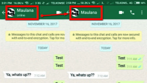 Cara Menghilangkan Status Online Di Whatsapp Di Android Lambe Tekno