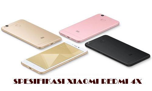 Spesifikasi Xiaomi Redmi 4X