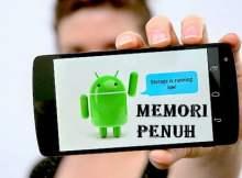 Cara Mengatasi Penyimpanan Android Penuh