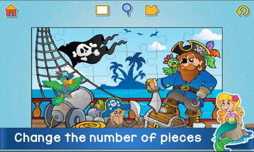 Game Kids Animals Jigsaw Puzzles Anak PAUD