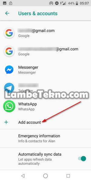Cara Buat Akun Gmail Baru