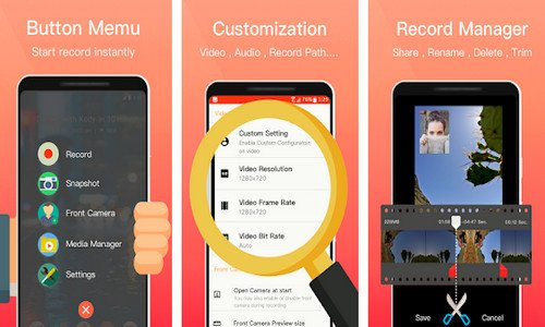 Aplikasi Perekam Layar HP EZ Screen Recorder