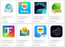 Aplikasi Keyboard Android Terbaik Keren (TOP 10 Terlaris di Play Store)